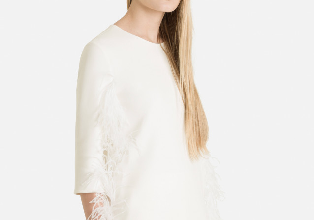 Butter Feather Blouse